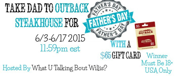 outback steakhouse giveaway banner