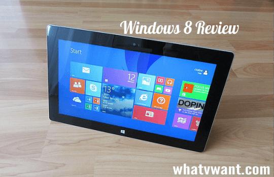 Windows 8 pc review