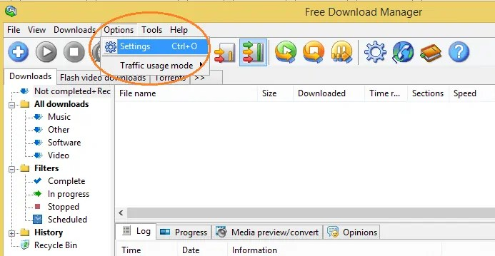 Increase download speed