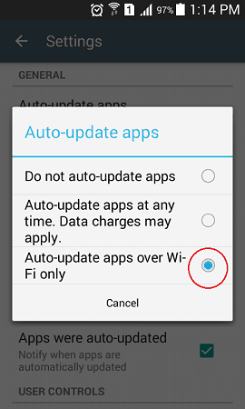how to decrease data usage on android