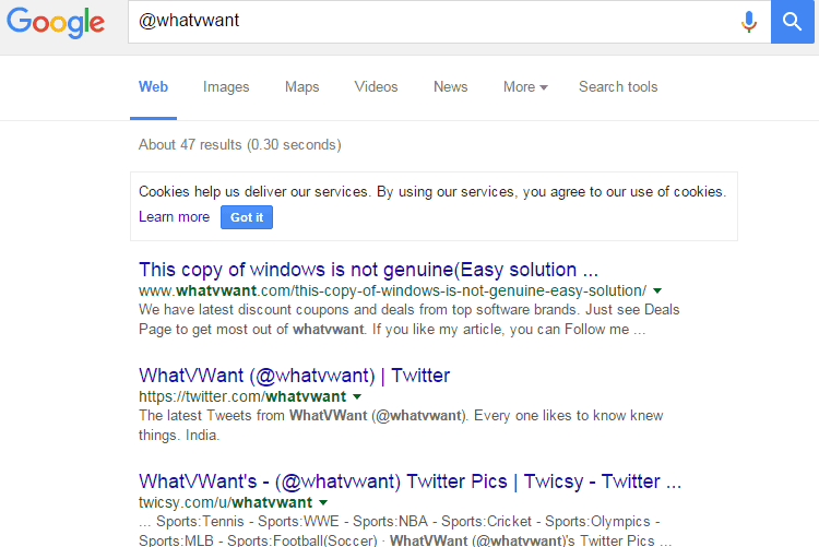 internet search engines Google social media