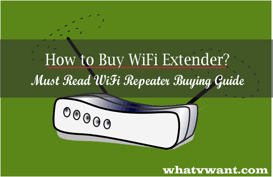 How to buy wifi extender