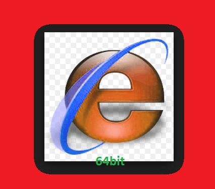 internet explorer 64 bit