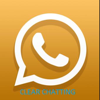 clear whatsapp chatting