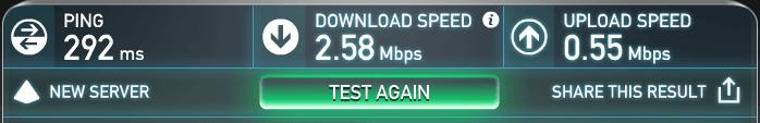 speedtest without vypr vpn