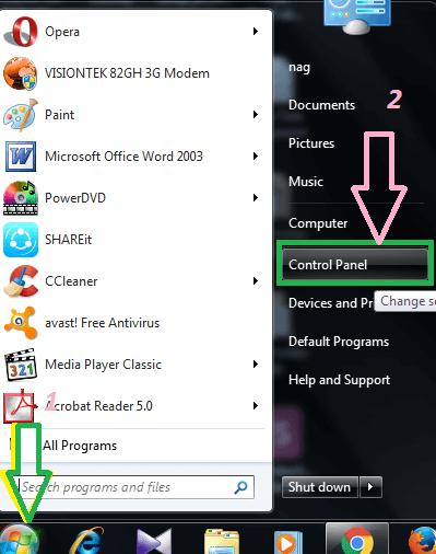 change default browser