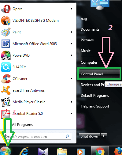 change default browser