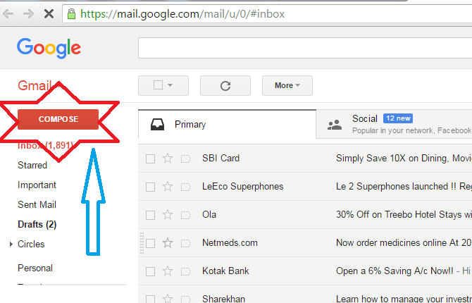How to send Email from Gmail