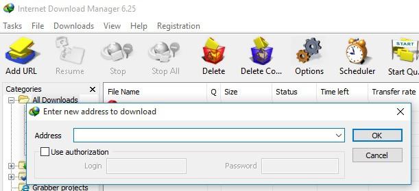 idm manual download