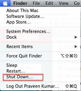 Apple Shut Down
