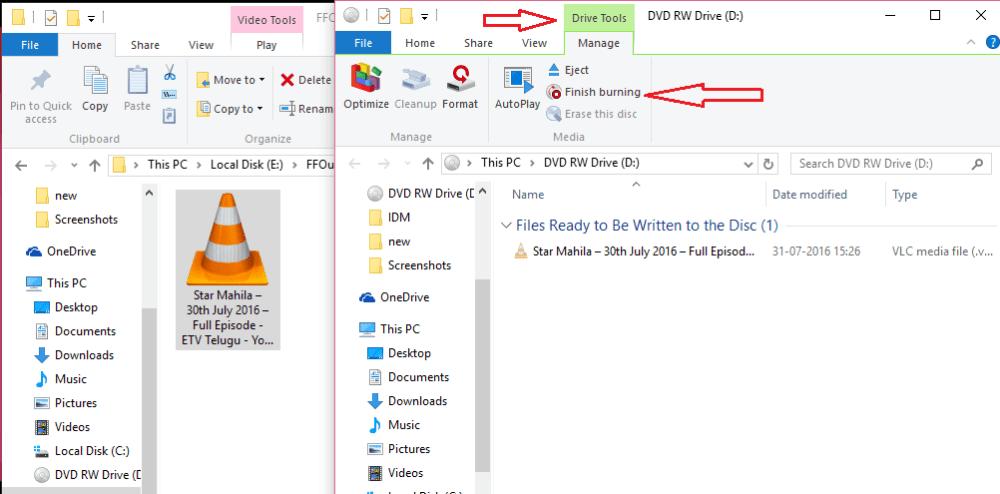 drive tools on windows10