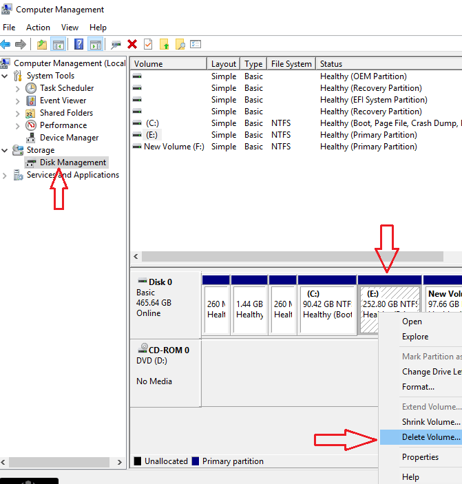 Extend C drive
