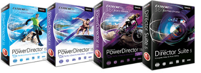cyberlink power director versions