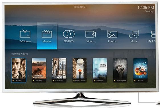 powerdvd tv mode
