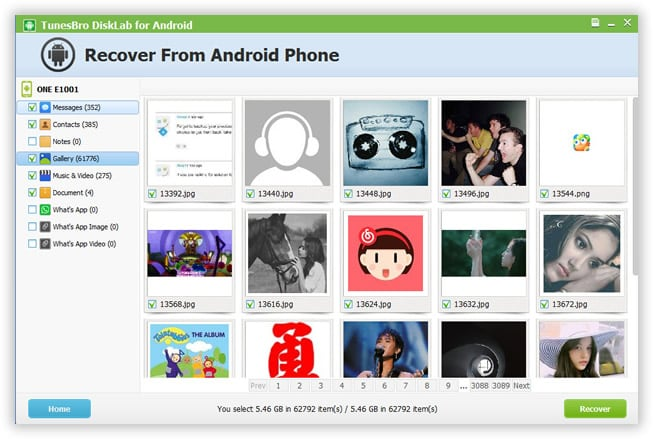 Recover Lost Data on Android