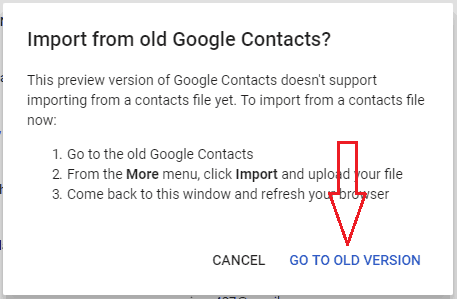 gmail older version