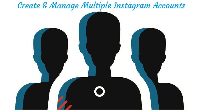 Multiple Instagram accounts