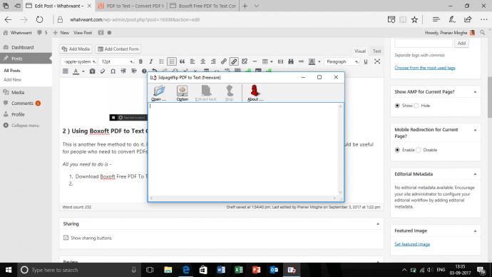2 Ways to Convert PDF files to Text