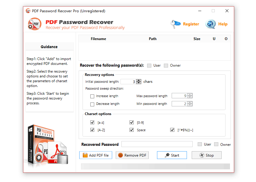 Best PDF Password Recovery Tool