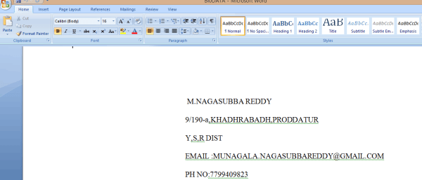 How to Add Page Break in MS Word 1
