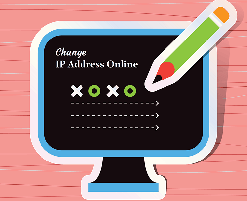 Change IP Address Online