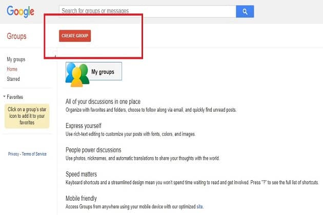 In Progress: How To Create Gmail Group