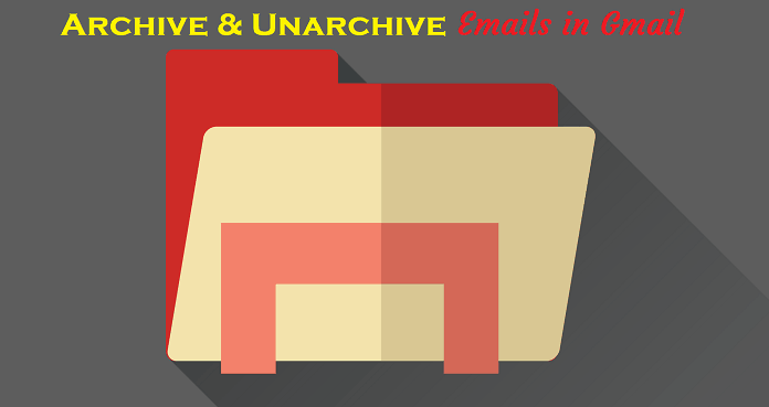 Access archived Emails in Gmail