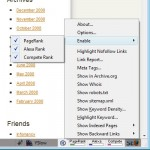 Search Status and its functions - click to enlarge