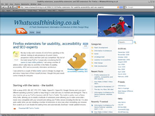 New Blog design for whatwasithinking.co.uk is live!
