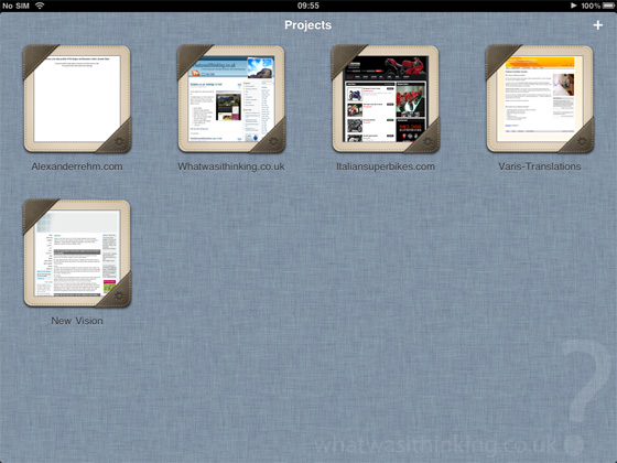 Gusto for the iPad