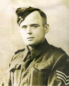Grandad Edwards in his uniform