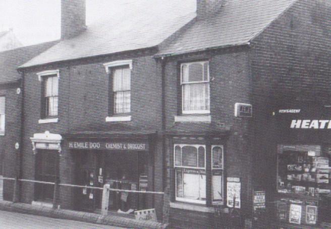 H.Emile Doo's Chemist Shop in Halesowen Road, Netherton