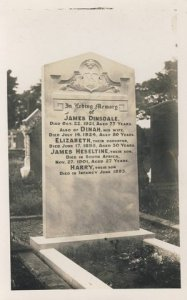 Dinsdale Family Headstone