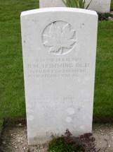 Headstone for Benjamin Marcus Trimming