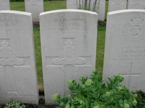 Headstone for John Leonard Saul