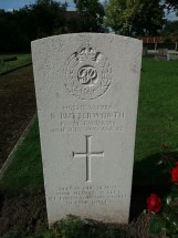 Headstone for Ronald Butterworth