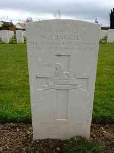 Headstone for Walter John Baggley