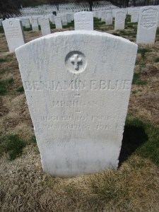 Headstone of Benjamin Blue