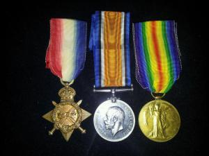 Medals for Reginald John Dodds