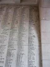 Memorial Panel for Walter Ellis - Menin Gate Memorial
