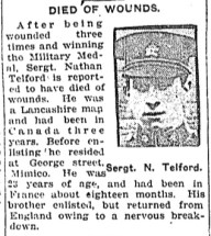 Nathan Telford in newspaper article - Toronto Star
