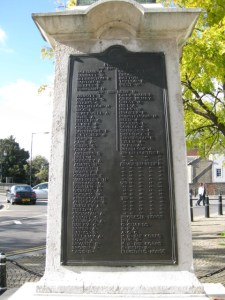 Panel 3 of Bedfordshire Boer War Memorial