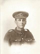 R J Dodds 1915 - Regimental Dress