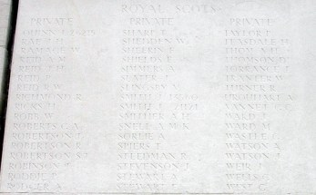 Thomas Sharp - Loos Memorial