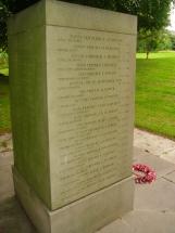 Memorial for Allen Eastwood
