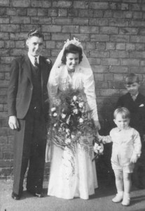 Wedding of Reginald Frederick Smith and Joyce Mary Carter