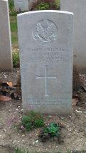 Headstone for Samuel Bell Smith