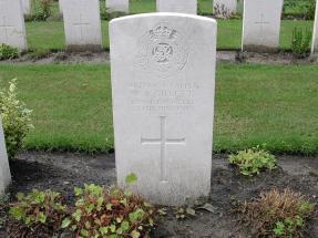 Headstone for William Arthur Gillett