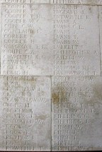 Memorial Panel for William Charles Cooper