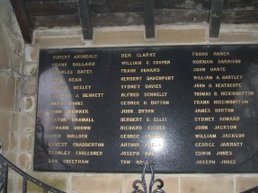 Memorial to William Charles Cooper and others